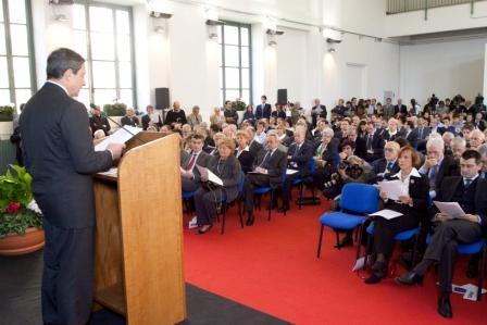 Onorato Castellino Lecture: MARIO DRAGHI