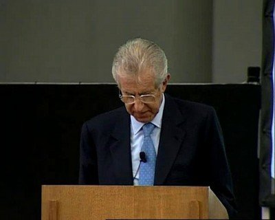 Lezione Onorato Castellino: Mario Monti