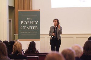 Elsa Fornero speaker at Syracuse University and at the Williamsburg School of Business