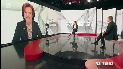 """La partecipazione di Elsa Fornero al programma """"Carta Bianca"""""""
