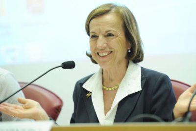 """Elsa Fornero speaker at the conference """"La réforme des retraites en Europe. Impacts Économiques et Sociaux"""""""