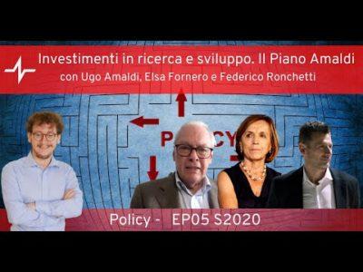 """Dibattito online """"Il Piano Amaldi"""""""